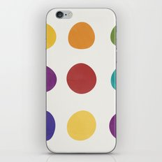 Color Dots iPhone Skin