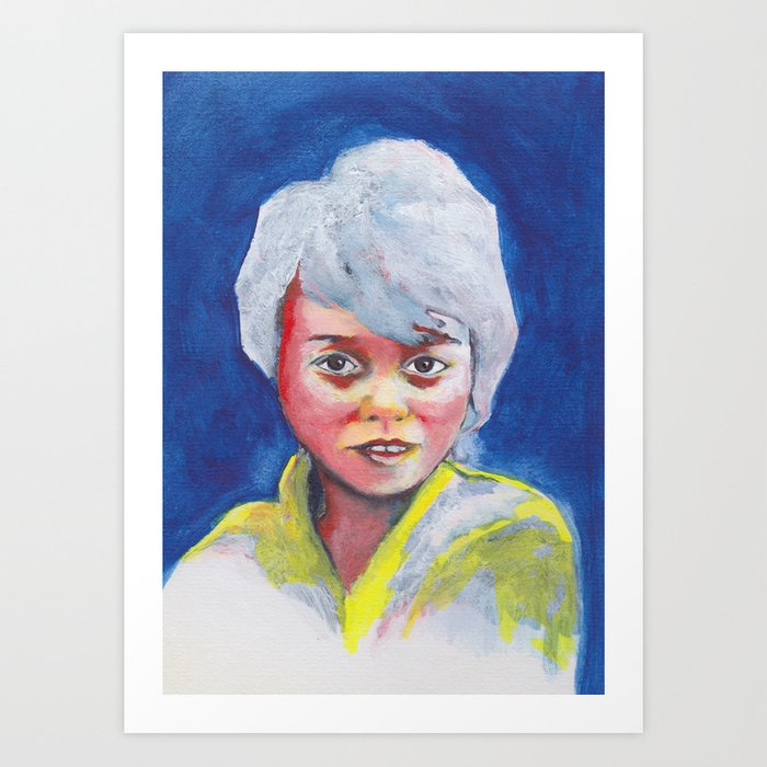 Nos étrangers 5 Art Print