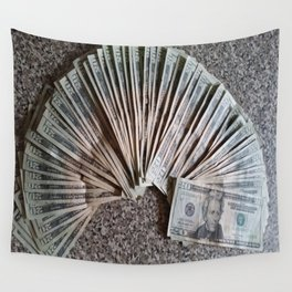 History and Money Wall Tapestry