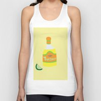 tequila Tank Tops featuring Tequila Tuesdays by Tyler Pentland