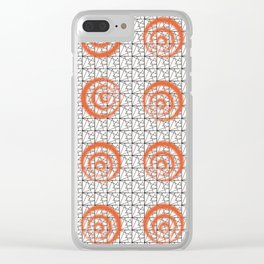 Target Practice #society6 #pattern Clear iPhone Case