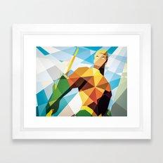 DC Comics Aquaman Framed Art Print