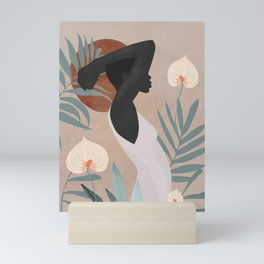Tropical Girl 4 Mini Art Print