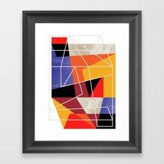 ColorBlock VII Framed Art Print