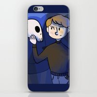 shakespeare iPhone & iPod Skins featuring Shakespeare Kids by Louisa Lawler