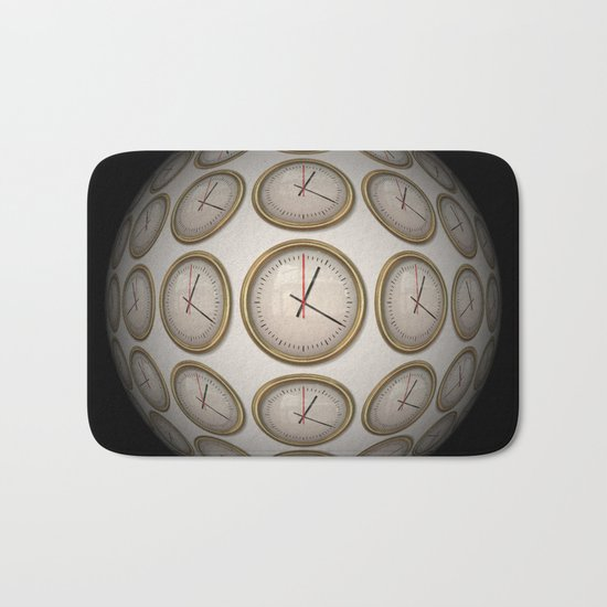 Time Time Time Bath Mat