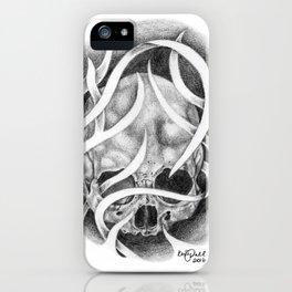 Swirly Skull iPhone Case
