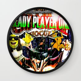 Official Ready Player One Poster Wall Clock
