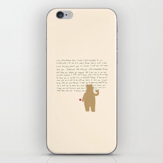 Writing iPhone & iPod Skin