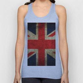 United Kingdom Flag Unisex Tank Top