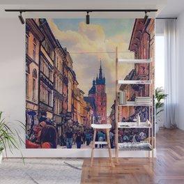 Cracow Florianska street Wall Mural