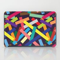 confetti iPad Cases featuring Confetti by Joe Van Wetering
