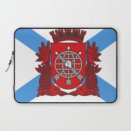 flag of Rio de Janeiro Laptop Sleeve