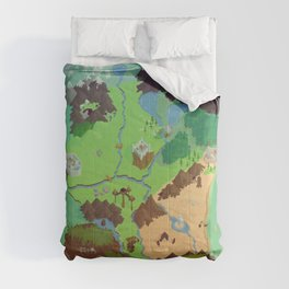 The Continent of Antonica Comforters
