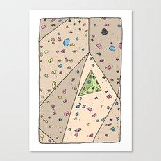 Climbing Wall Canvas Print