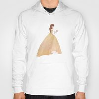 belle Hoodies featuring Belle by lolia