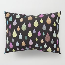 Glitter Rain Pillow Sham