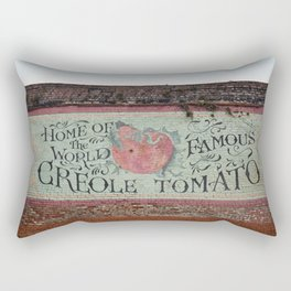 New Orleans Creole Tomato Rectangular Pillow