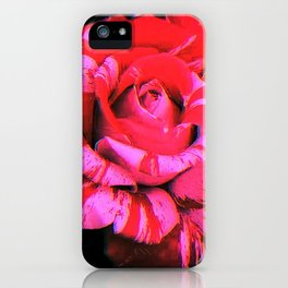 Digital Romance iPhone Case