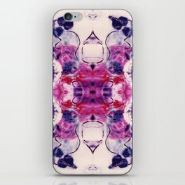 Wine & Flowers Photographic Pattern #1 iPhone Skin