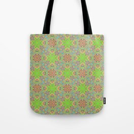 Summer Limelight Tote Bag