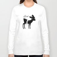 bambi Long Sleeve T-shirts featuring bambi by mauipop