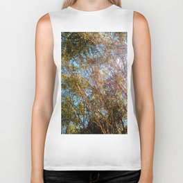 Trees and Flare Biker Tank