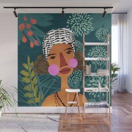 Tropical Beauty Wall Mural
