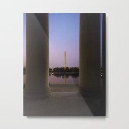 Washington DC at twilight Metal Print
