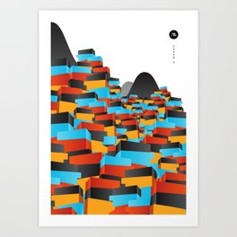 O Morro II Art Print