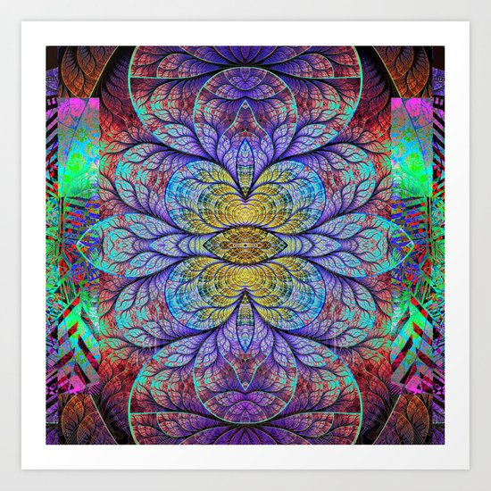 Abstract 1A Art Print