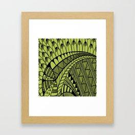 Whimsy Pattern Framed Art Print