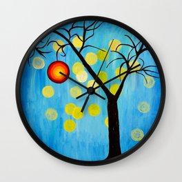 Modern Tree Wall Clock