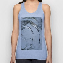 Abstract ice texture 9 Unisex Tank Top
