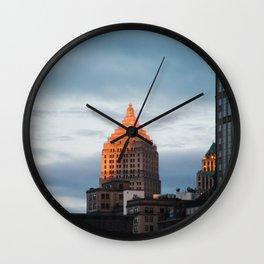 The peak. Wall Clock