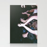 it crowd Stationery Cards featuring Crowd by ryanholquin