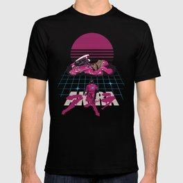 Neo-Tokyo Akira Synthwave tribute T-shirt