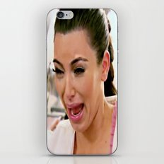 cry iPhone & iPod Skin