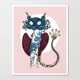 Tarsier's labyrinth Canvas Print