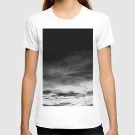 BLACK & WHITE TOUCHING #1 #abstract #decor #art #society6 T-shirt