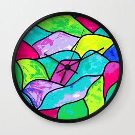 Vitro funky colors Wall Clock