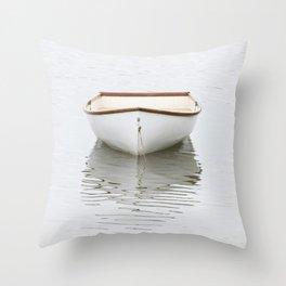 Pamet Harbor Skiff Throw Pillow