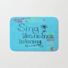 Sing Bath Mat