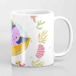 Under the sea with Captain Octo Coffee Mug
