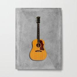 The J-50 Acoustic Guitar Metal Print