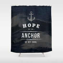 ANCHOR (2) Shower Curtain