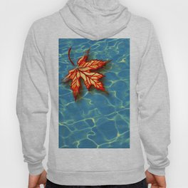 Wet Maple Leaf Hoody