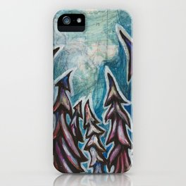 'Not Gott Peak' by Vanessa Stark iPhone Case