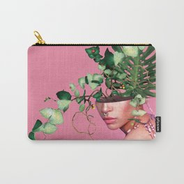 Lady Flowers VI Carry-All Pouch