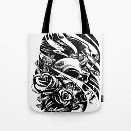 Skull collage,custom gift design Tote Bag
